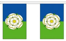 EAST RIDING OF YORKSHIRE BUNTING - 3 METRES 10 FLAGS